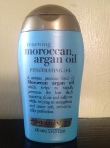 Organix Moroccan oil